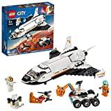 Lego - City Space Port Shuttle di Ricerca su Marte con Due Minifigure e Partire Alla Scoperta di Nuovi Mondo,Set di Costruzioni per Bambini +5 Anni, 60226