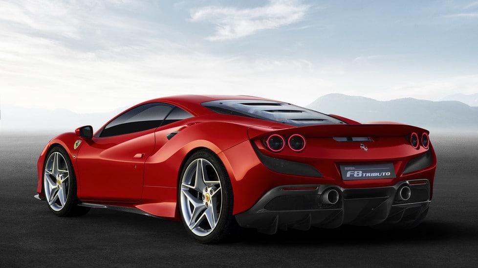 Produzione Ferrari F8 Tributo