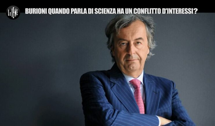 Burioni conflitto di interessi le iene accuse