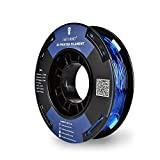 SainSmart bobina piccola da 1.75mm in TPU, filo flessibile 3D 250g, precisione delle dimensioni +/-0,05mm, Shore 95A, blu
