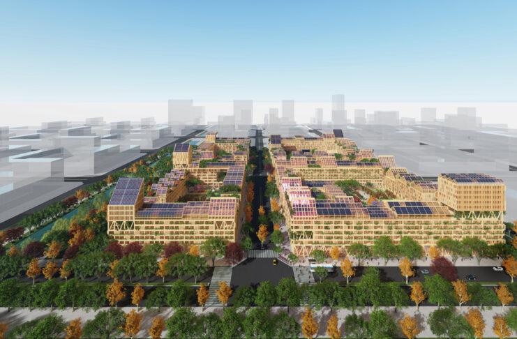 In Cina nasce la città del futuro a prova di Covid. Ph. archdaily.com