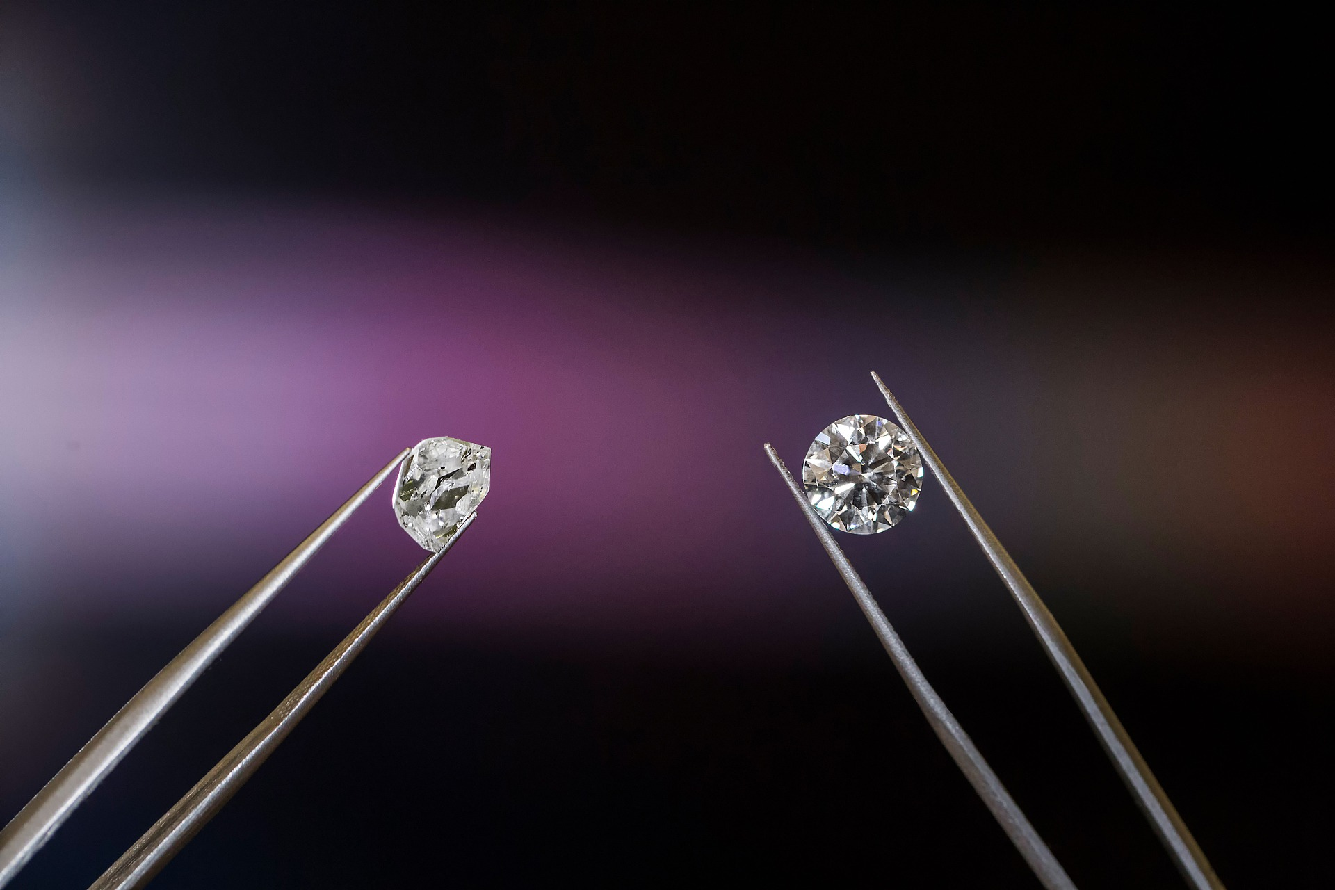 Diamante: da pietra preziosa a materiale per l'industria