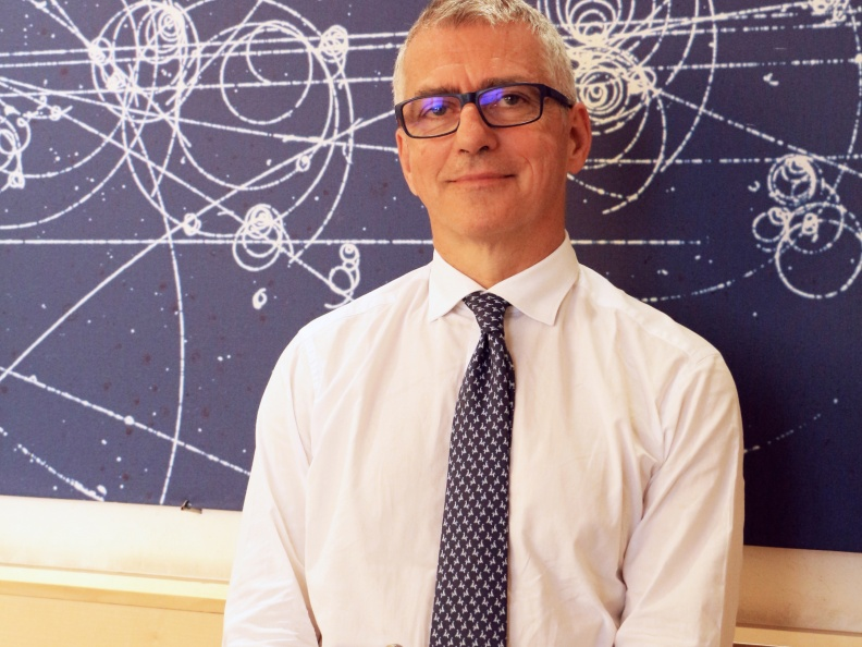 Antonio Zoccoli, presidente INFN e amico del fisico Giorgio Parisi