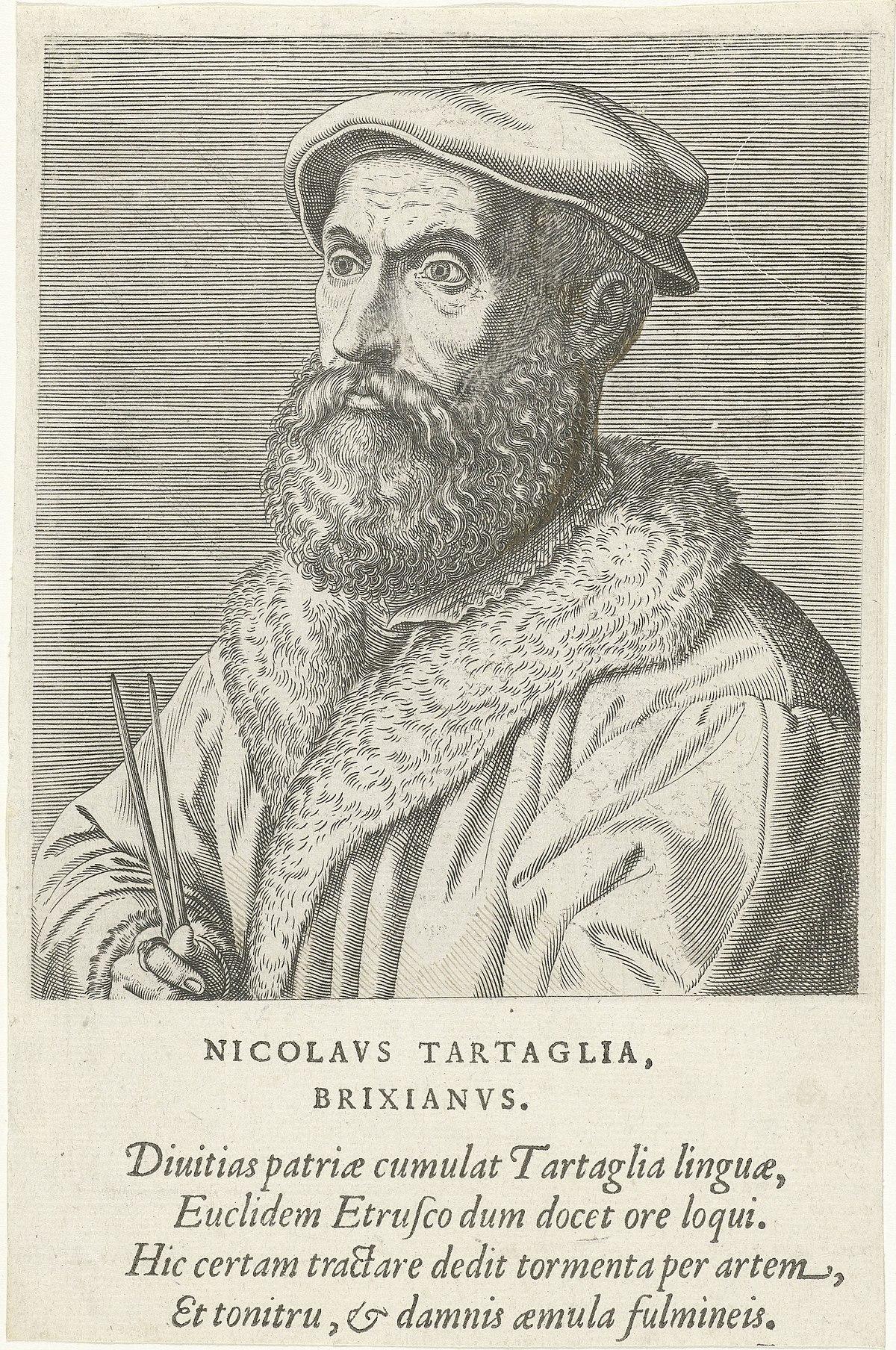 Niccolò Tartaglia - Wikipedia