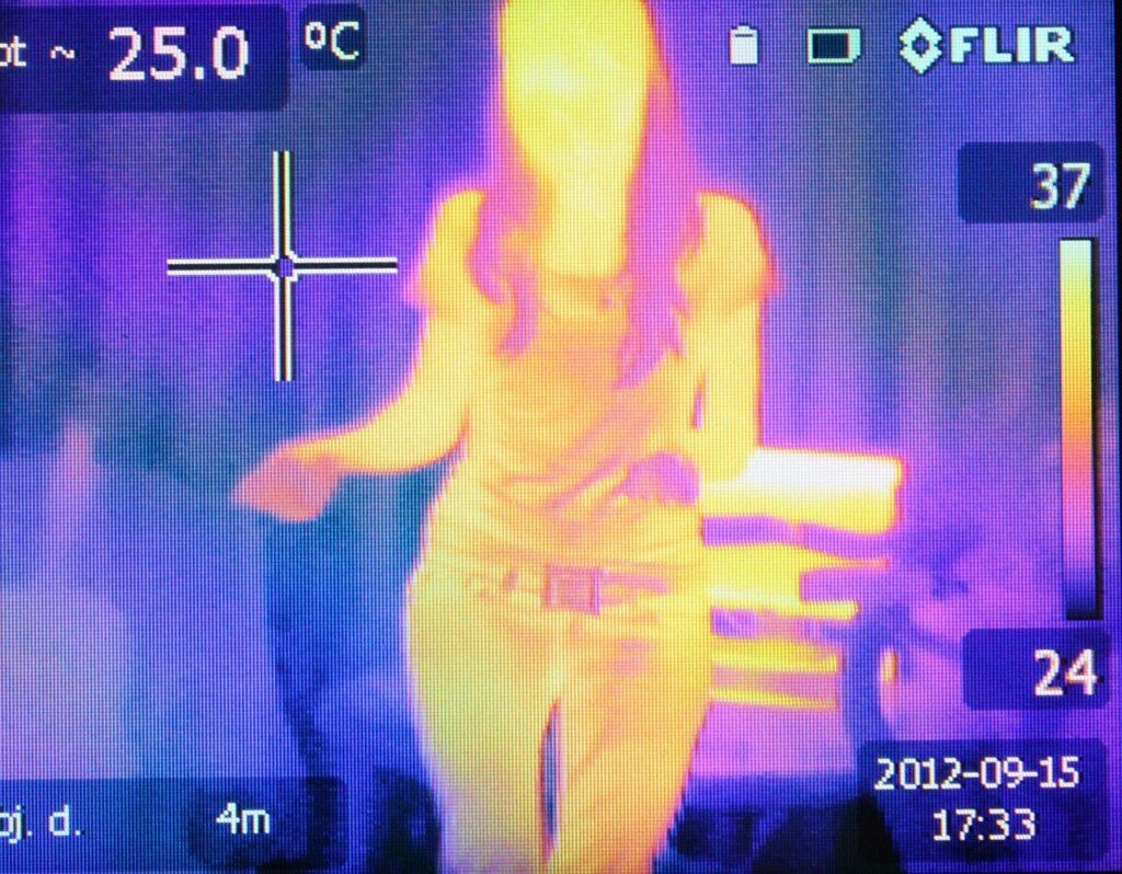 ostia drone temperatura coronavirus